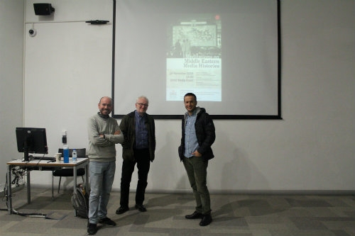 """Meditations on Middle Eastern Media Histories"" semineri gerçekleştirildi"