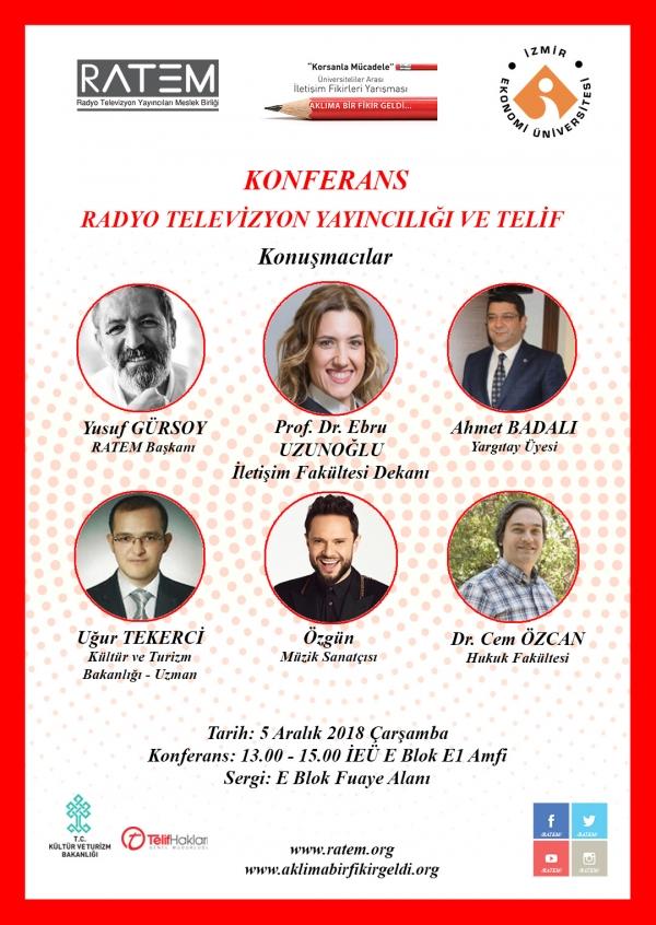 RATEM Radyo Televizyon Yayıncılığı ve Telif Konferans ve Sergisi