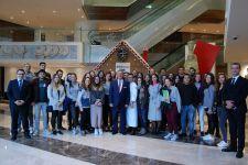 CAM STUDENTS' VISIT TO SWISSOTEL BÜYÜK EFES İZMİR
