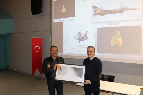 SOLOTURK VISITED IUE VOCATIONAL SCHOOL
