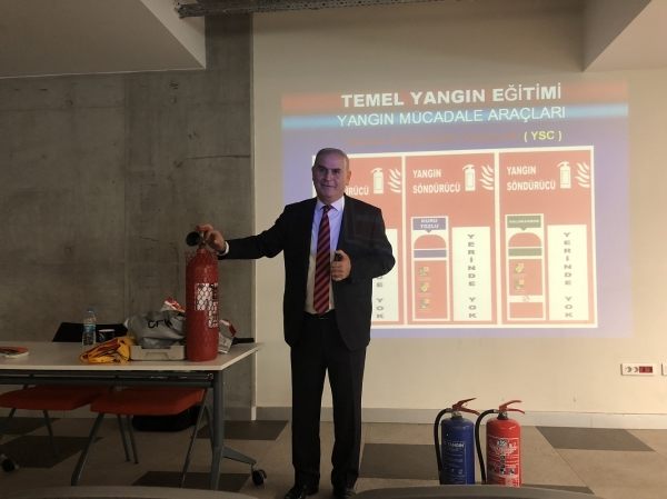 FIRE SAFETY TRAINING AT IUE VOCATIONAL SCHOOL