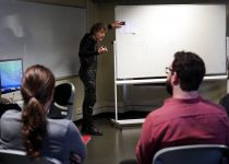 Workshop on storyboarding on film with Martin Cihak from FAMU