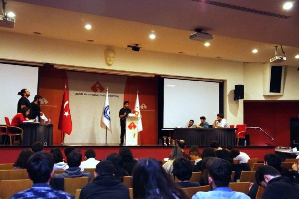 Debate tournament by IUE students