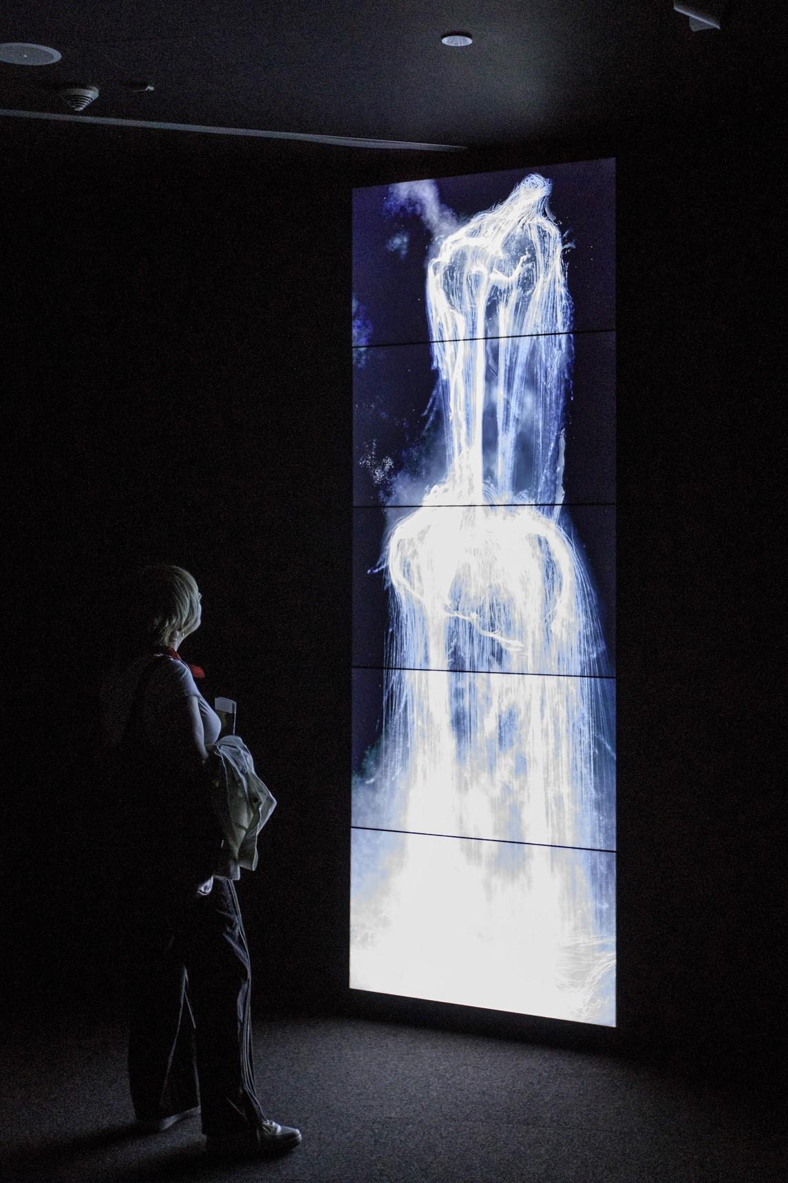 Aras Özgün, Borusan Contemporary Sanat ve Teknoloji Platformu'nda