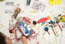 """""""Color Therapy"""" atölye çalışması ile renkli bir mola"""