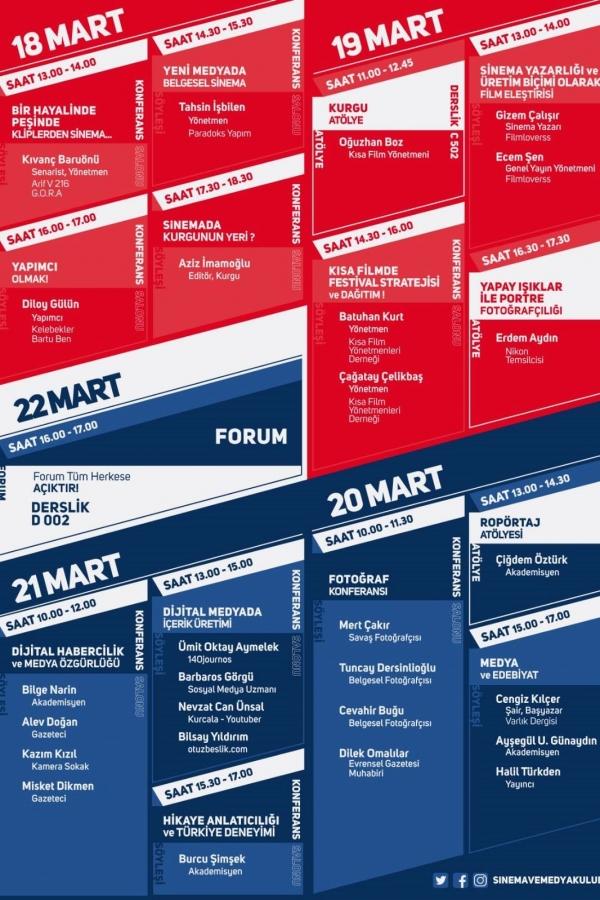 İletişim Festivali: Sinema ve Medya Günleri