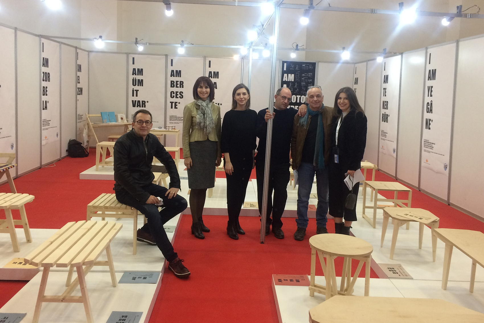 Furniture Collection 'I AM A PROTOTYPE' 'at Modeko Fair