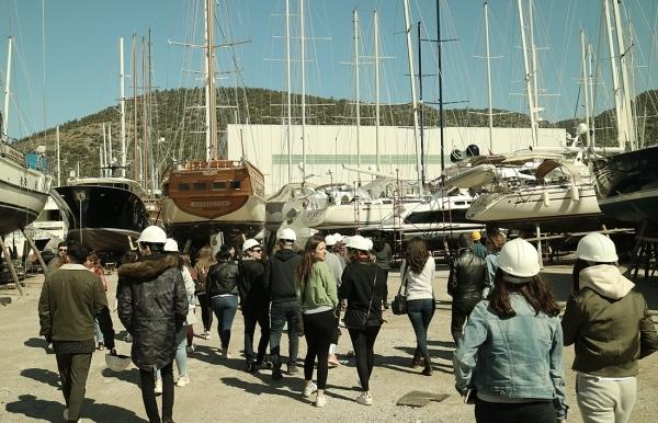 BODRUM İÇMELER SHIPYARDS TECHNICAL TRIP