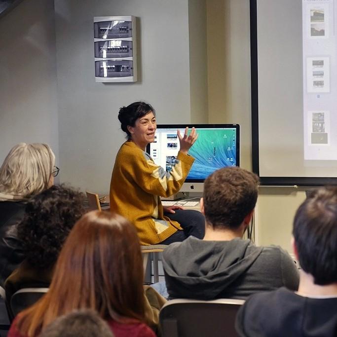 Sinema ve Dijital Medya bölümü Elif Taşçıoğlu'nu ağırladı