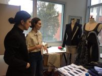 Fashion and Textile Design Department Hosted Successful Fashion Designer Hatice Gökçe...