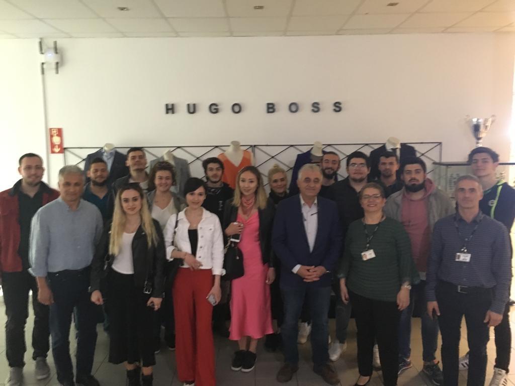 Hugo Boss Firmasına Teknik Gezi