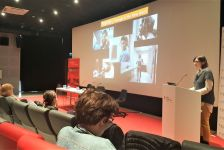 Cinema and Digital Media department members were at Istanbul Bilgi University