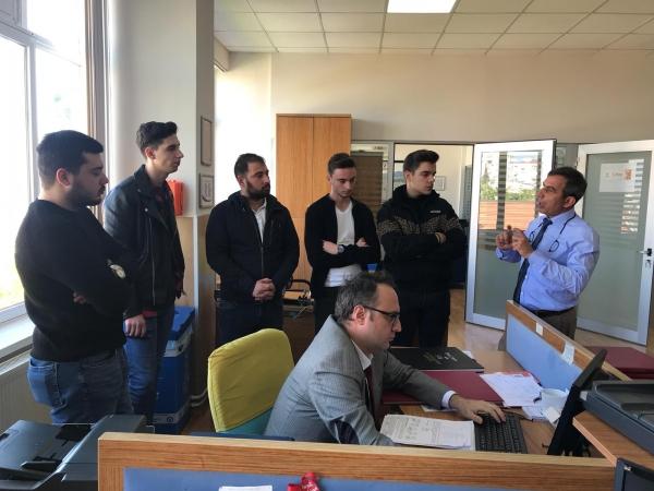 Emlak ve Emlak Yönetimi Programı 1. Sınıf Öğrencileri Balçova Tapu Müdürlüğünde
