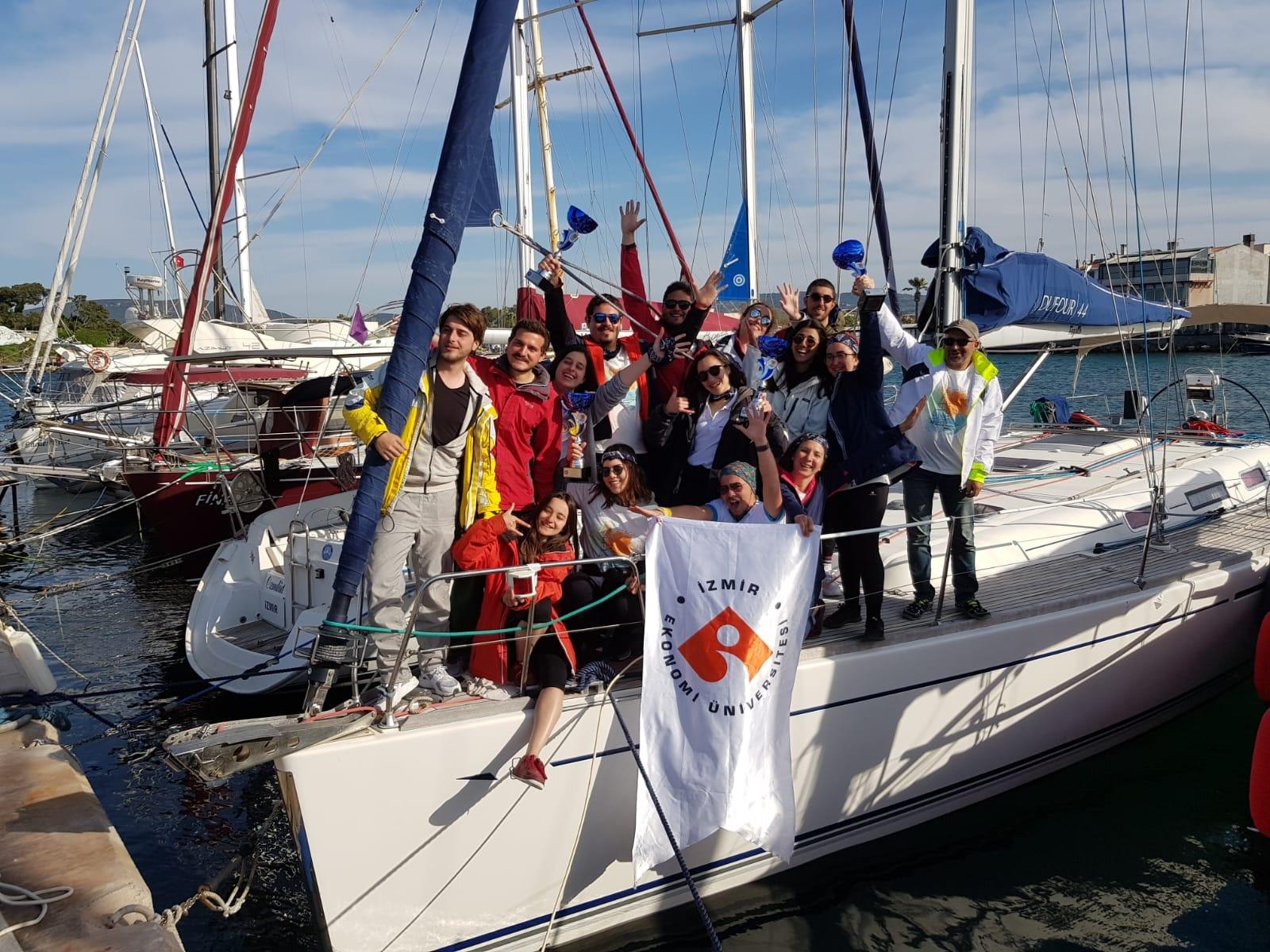 IUE's sailing achievement
