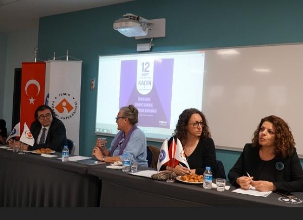 """Sosyal Sorumluluk Komitesi Dünya Emekçi Kadınlar Haftasında """"Kadın ve Girişimcilik"""" Paneli Düzenledi"""