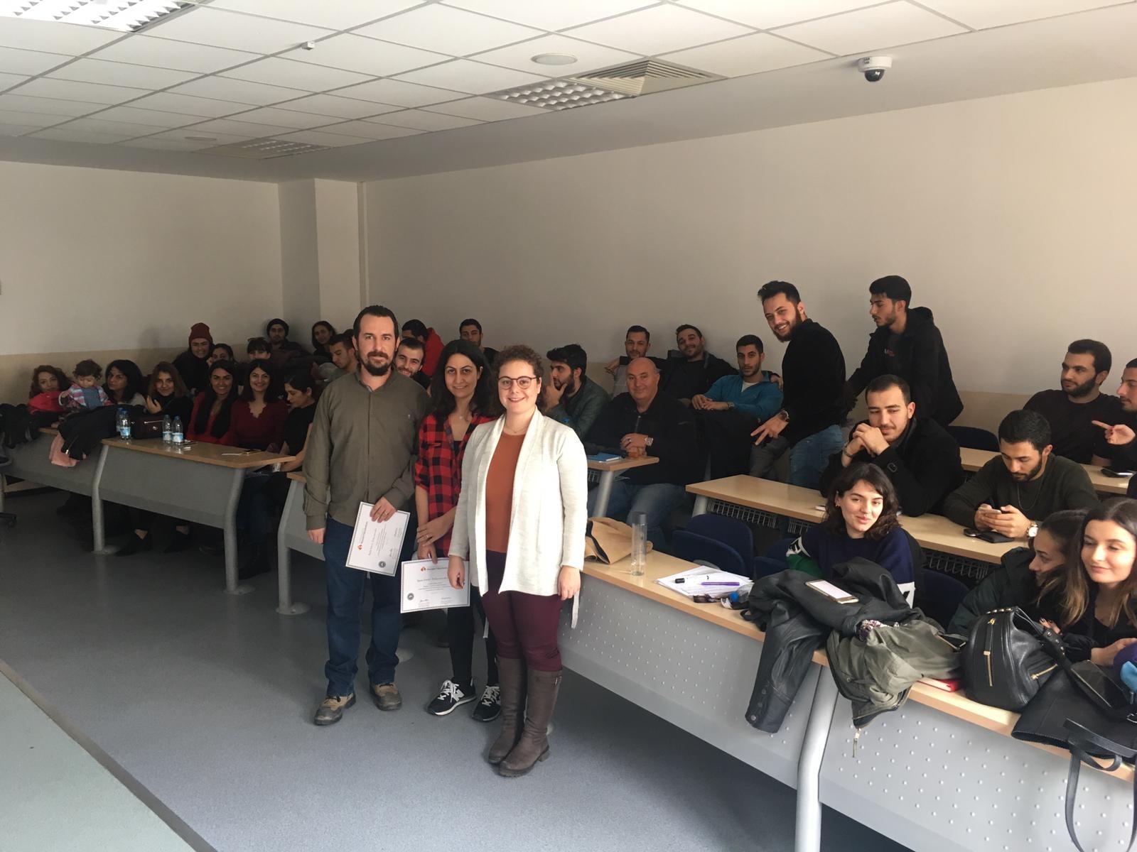 Gamze ve Hakan Bağçıvancıoğlu ÇUS Etkinliği Kapsamında Mimari Restorasyon Programı'nın Konuğu Oldu