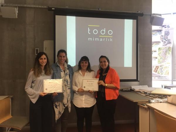 İç Mekan Tasarımı Programı TODO Mimarlık'ı ağırladı