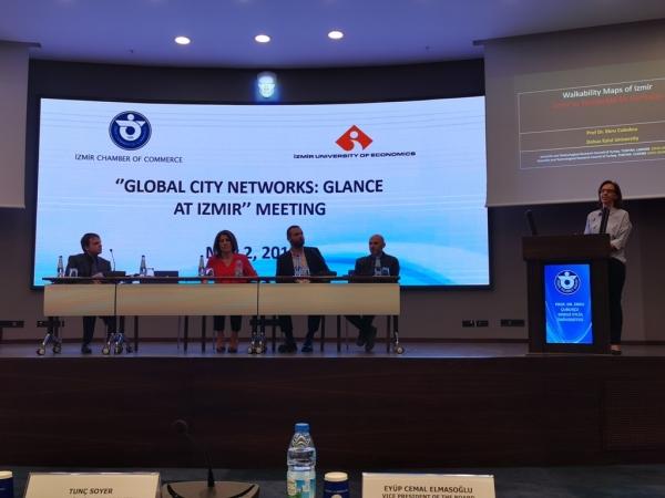 Küresel Kent Ağları: İzmir'e Bakış paneli İEÜ Mimarlık katkılarıyla gerçekleştirildi