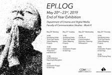 EPI.LOG: CDM department end of year exhibition