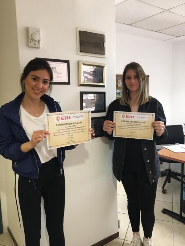Sivil Havacılık Öğrencileri Yangın Eğitimi