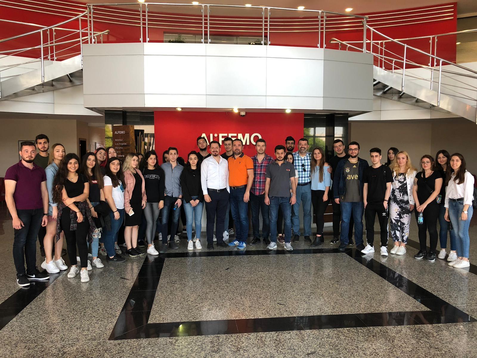 Meslek Yüksekokulu'ndan ALFEMO'ya Çıkartma