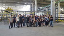 İnşaat Teknolojisi Öğrencileri KÇS Gazbeton Üretim Tesislerinde