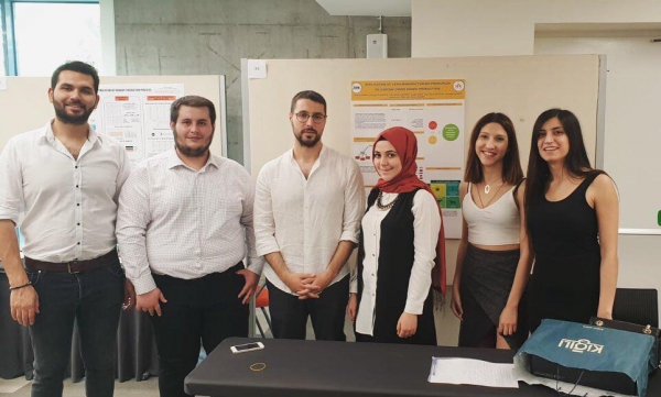Endüstri Mühendisliği Bölümü Bitirme Projesi Sergisi 20 Mayıs tarihinde gerçekleştirildi.