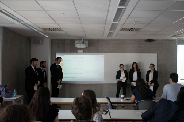 Endüstri Mühendisliği Bölümü Bitirme Projesi Sergisi 11 Mayıs tarihinde gerçekleştirildi.