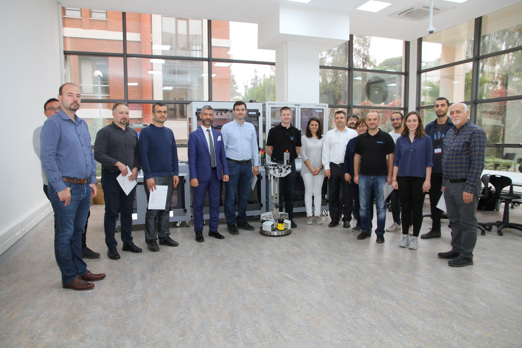 Industry 4.0 training was held between November 6-8 .