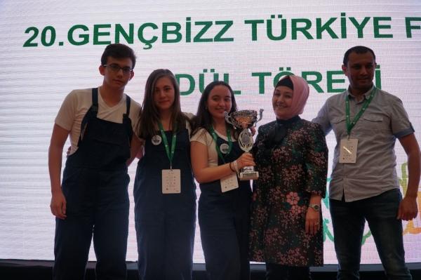 Genç girişimcilerin tasarımları İEU'da yarıştı