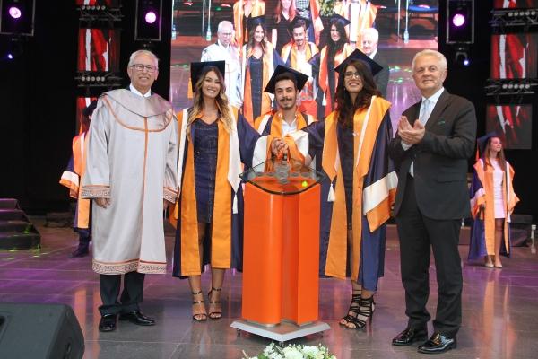 Izmir University of Economics bids farewell to graduates