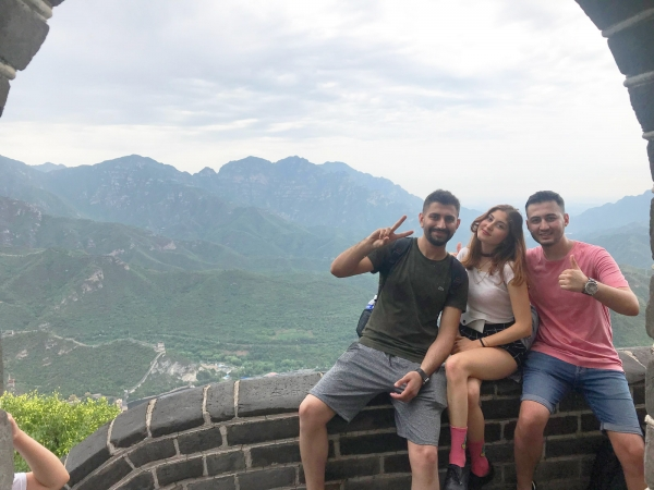 IUE students attended the camp in China