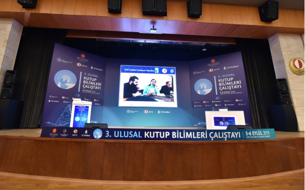 """Efe Biresselioglu ve Sitki Egeli'nin bildirisi """"3. Ulusal kutup bilimleri calistayi""""nda sunuldu"""