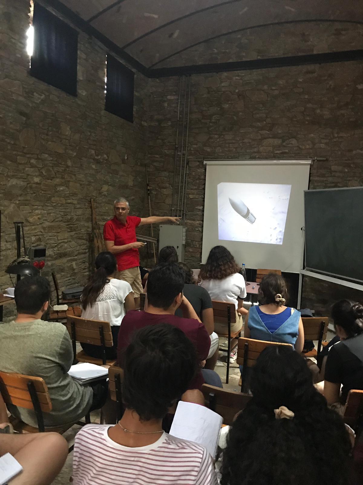 Sıtkı Egeli Arché Uluslararası İlişkiler Yaz Okulu Programına Katıldı