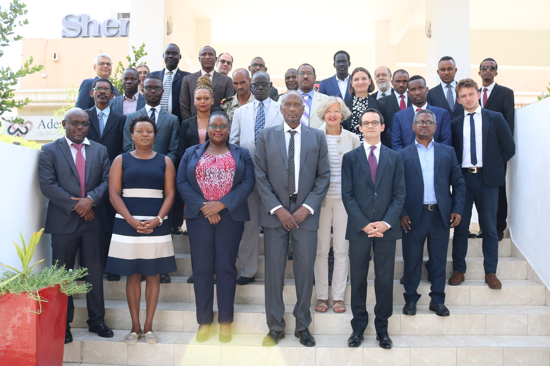 IUE faculty member at arms control event in Africa