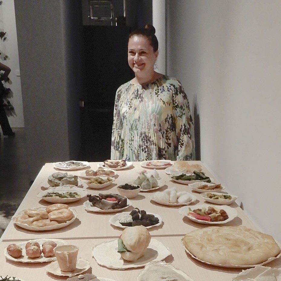 Tastes of Izmir turned into artwork and being displayed in Spain