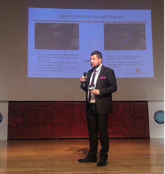 Efe Biresselioğlu Norveç'te düzenlenen ECHOES Paneline katıldı