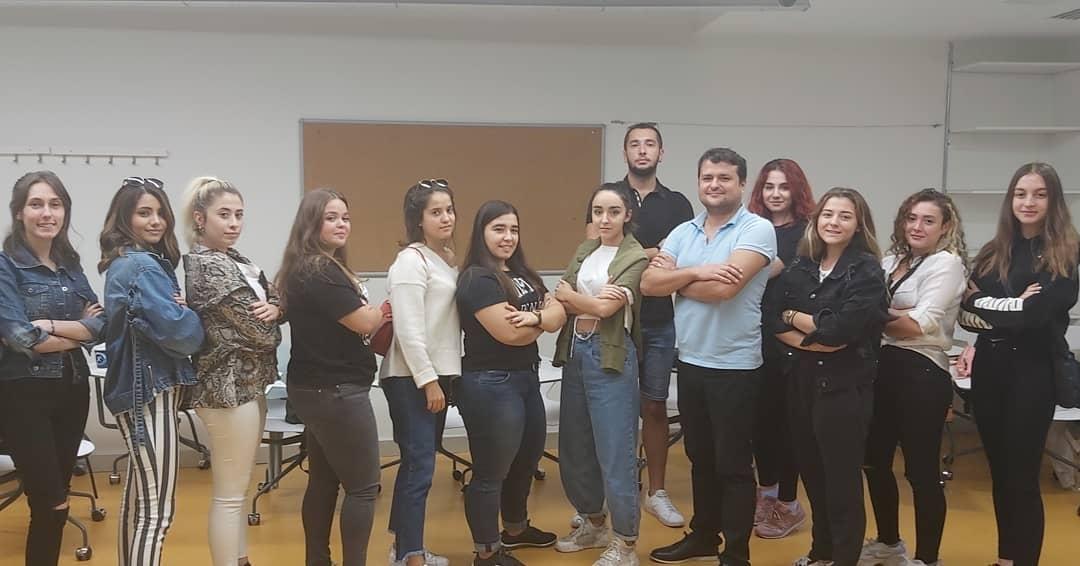 Öğrencilerimiz İş Kulübü Eğitimi'nde