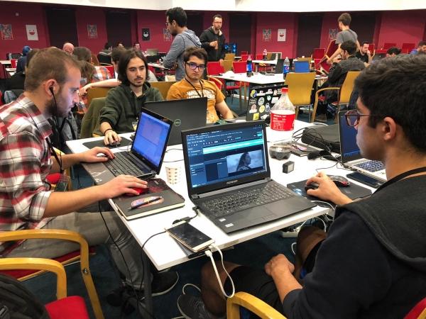 They met up at Izmir University of Economics for game development