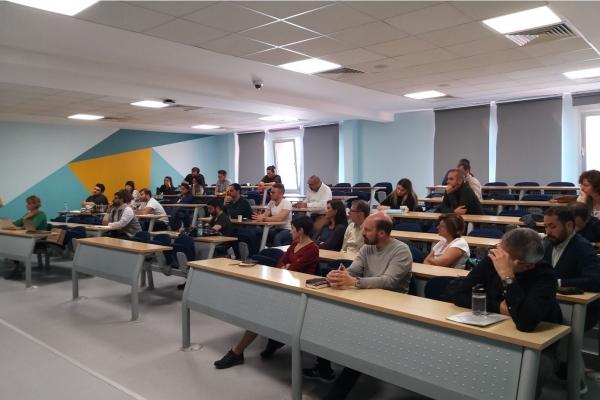 """Mesut Yeğen """"Türkiye bağlamında Millet Tipolojileri ve Milliyetçilik"""" konulu bir seminer verdi"""
