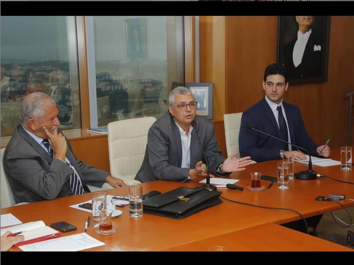 Sıtkı Egeli, Global İlişkiler Forumu'nun Yuvarlak Masa Toplantısı'na katıldı