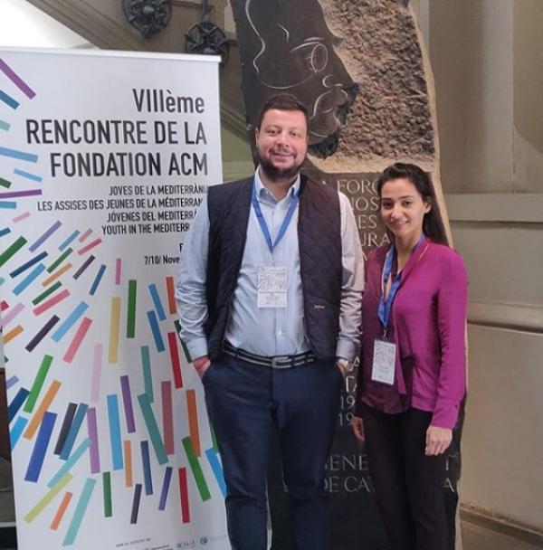 Efe Biresselioğlu Mediterranean Citizen Assembly'nin Barcelona Toplantısı'na katıldı