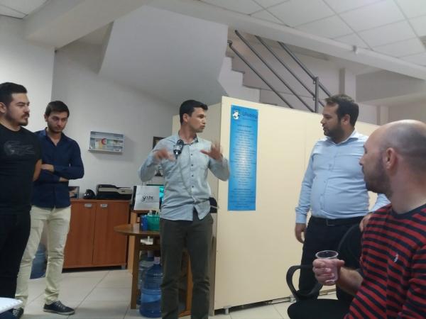 Öğrencilerimiz Ulusoy Iş Sagligi ve Guvenligi Cevre Analiz Laboratuarinı Ziyaret Etti