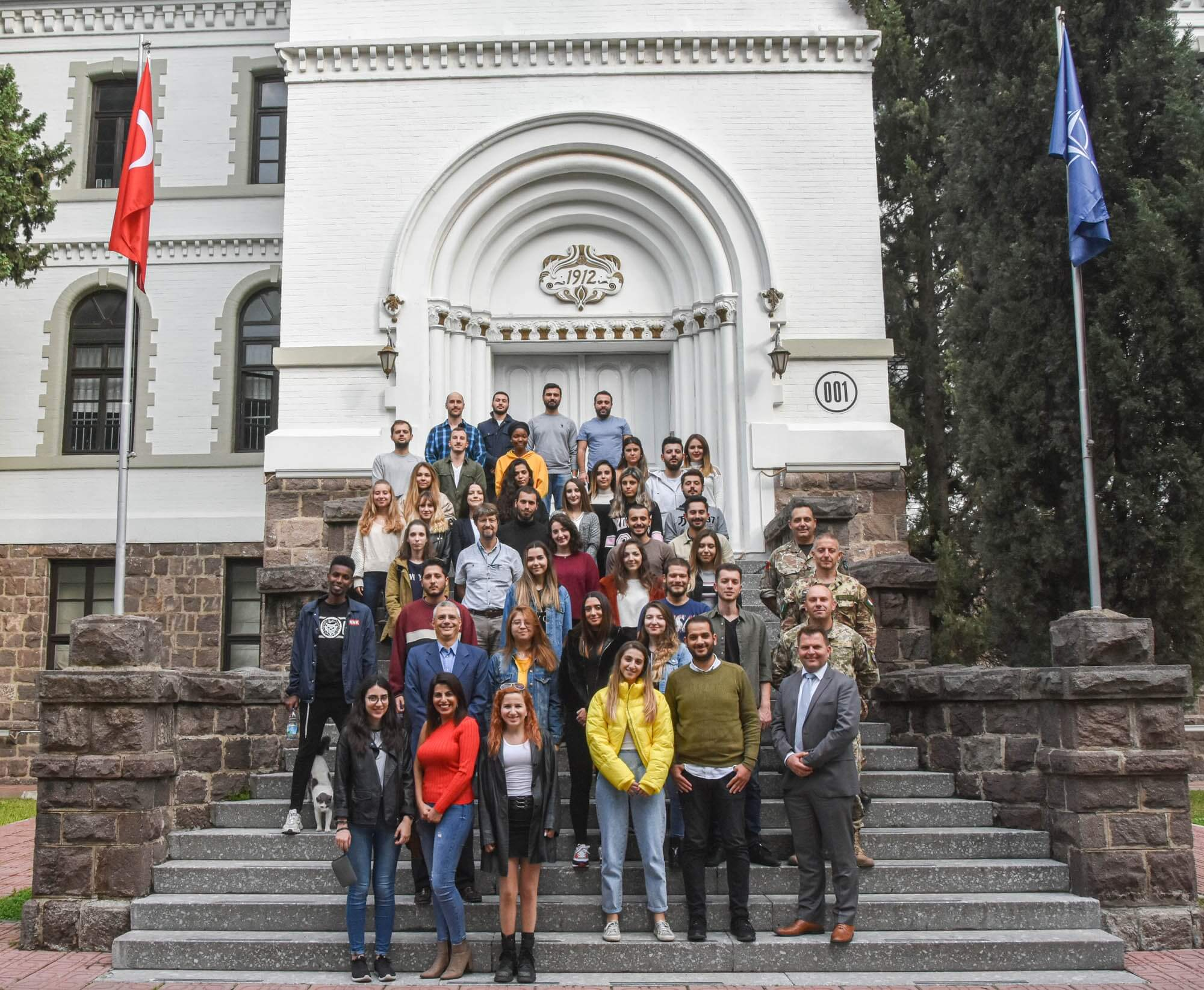 Öğrencilerimiz NATO-LANDCOM Karargâhını Ziyaret Etti