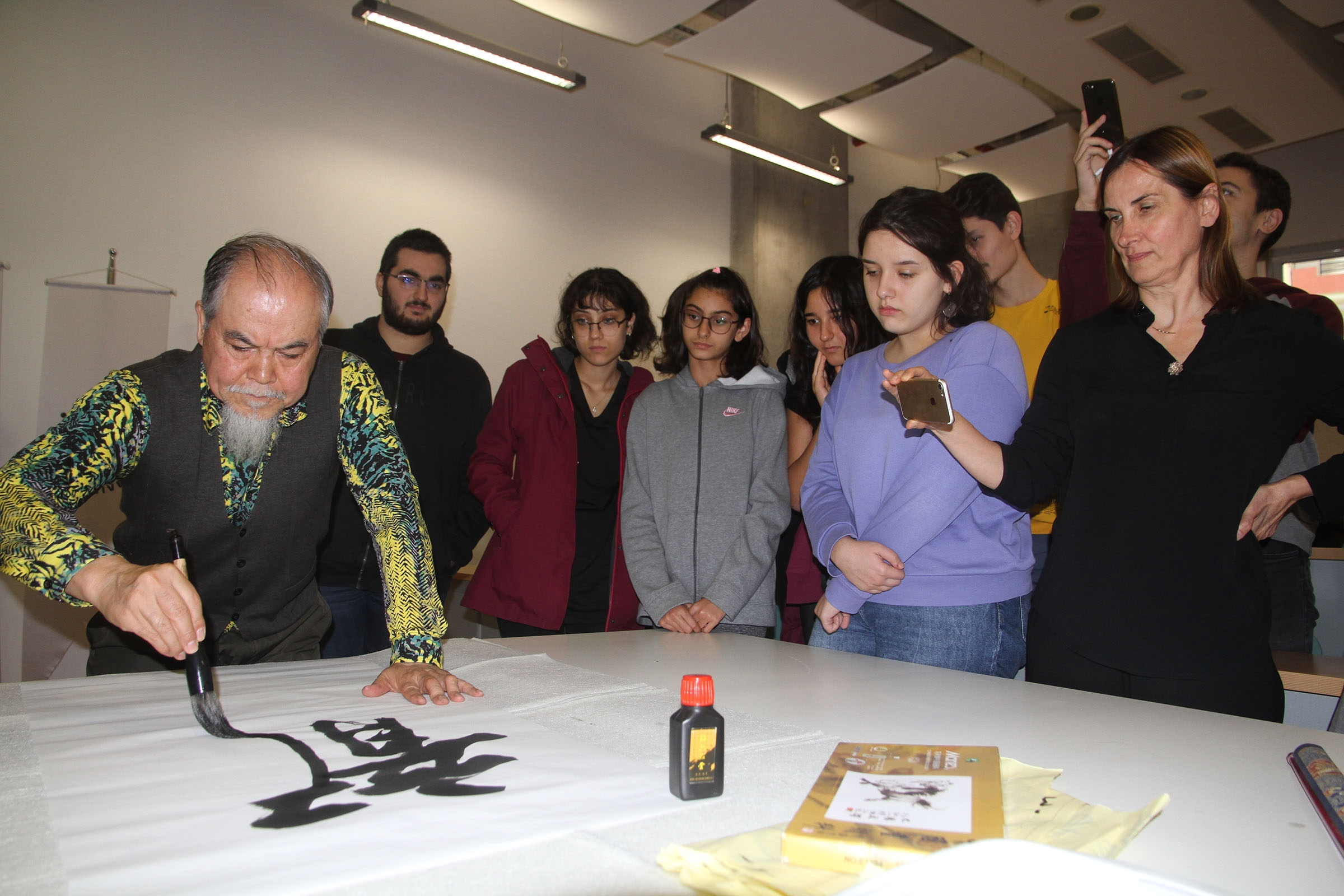 Workshop by Chinese artists