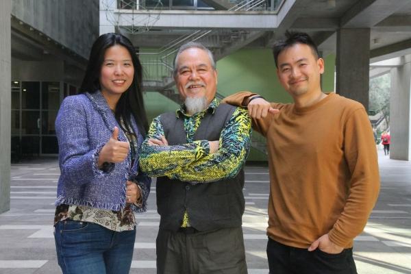 Çinli sanatçılar anlattı, İzmir Ekonomili gençler yaptı