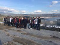 Çine Adnan Menderes Barajı Teknik Gezi