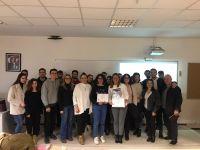 İzmir Büyükşehir Belediyesi Tarihi Yapılar Şube Müdürlüğü Mimar Dilara Yöndem Kayan ve Restorasyon Uzmanı Mimar Çisel Tavkaya Mimari Restorasyon Programı ÇUS etkinliği kapsamında konuğumuzdu