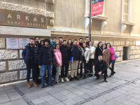 Mimari Restorasyon Öğrencileri Arkas Sanat Merkezinde.