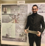 Our graduate Seyit Koyuncu won the Honorable Mention at Archiprix 2019